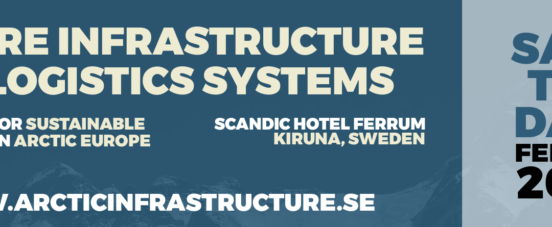 Future Infrastructure and Logistics Systems 17-18 Februari, 2020